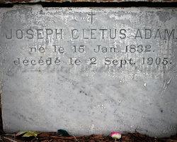 Joseph Cletus Adam