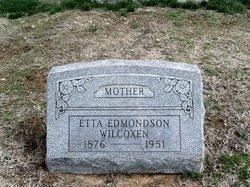 Sarah Etta <i>Rolfe</i> Edmondson Wilcoxen