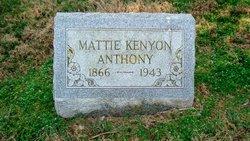 Mattie Kenyon Anthony