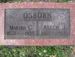 Martha Catherine <i>Mathena</i> Osborn