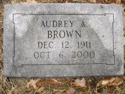 Audrey A Brown
