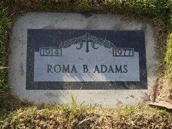 Bertha Roma Roma <i>Barton</i> Adams