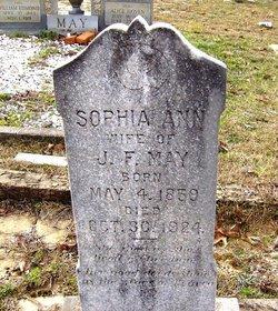 Sophia Ann <i>Stanley</i> May