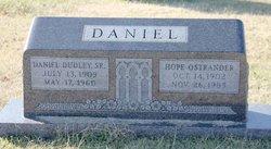 Daniel Dudley Daniel