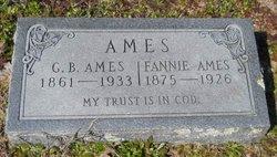 Frances E Fannie <i>Cromer</i> Ames