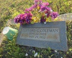 Clifford G Coleman