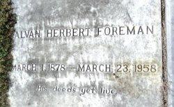 Alvan Herbert Foreman