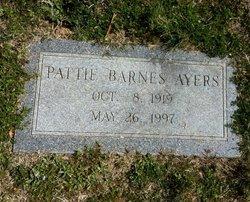 Patty Doris <i>Barnes</i> Ayers
