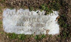 Alexander Watson Battle