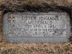 Sister Johanna McDonald