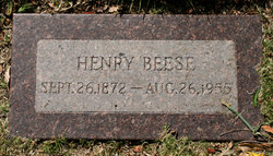Henrich Henry Beese