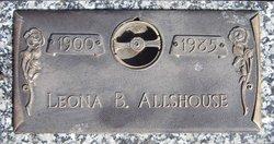 Leona Belle <i>Pittsley</i> Allshouse