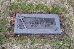Hazel E Baker