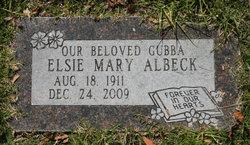 Elsie Mary <i>Beese</i> Albeck