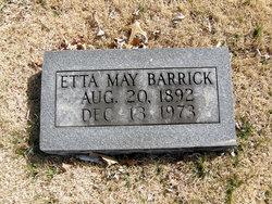 Etta May Barrick