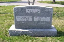 Kate Hays <i>Cowley</i> Allen