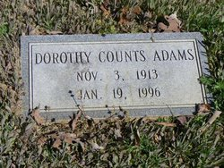 Dorothy <i>Counts</i> Adams