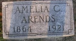 Amelia C <i>Rupple</i> Arends