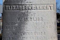 Elizabeth G. <i>Knight</i> Bliss