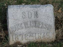 Frank W Anderson