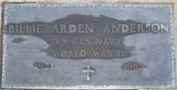 Billie Arden <i>Wharton</i> Anderson