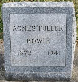 Agnes <i>Fuller</i> Bowie