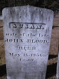 Susan <i>Jewett</i> Blood