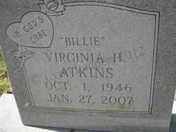 Virginia Billie <i>Hardy</i> Atkins
