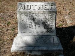 Edith V <i>Clark</i> Reed