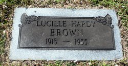 Lucille <i>Hardy</i> Brown