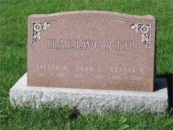 Evelyn Marie <i>Howard</i> Hallworth