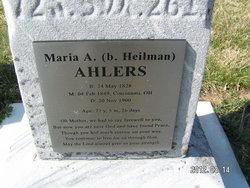 Maria Anna <i>Heilmann</i> Ahlers