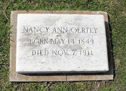 Nancy Ann Oertly