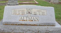 Emma <i>Weige</i> Altman