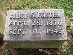 Alice Amelia <i>Seltzer</i> Foster