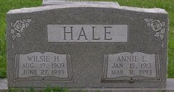 Annie Laura <i>Mercer</i> Hale