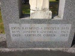 Gertrude H <i>O'Brien</i> Gaudreau