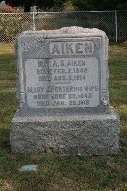 Rev Alexander Scott Aiken