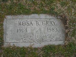 Rosa Belle Rose <i>Shackelford</i> Gray