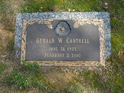 Gerald Wilton Cantrell, Sr