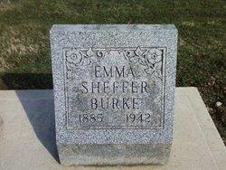 Zella Maude Emma <i>Sheffer</i> Burke