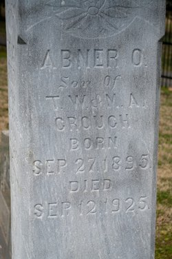 Abner O Crouch