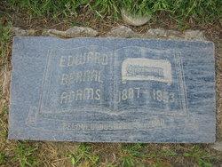 Edward Bernal Curley Adams