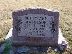 Betty Ann Matheson