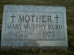 Mary <i>Murphy</i> Burd