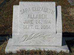 Sara Elizabeth Allaben