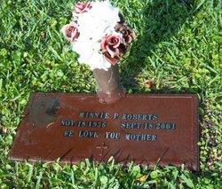 Minnie P. Roberts