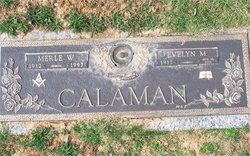 Evelyn May <i>Davis</i> Calaman
