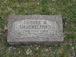 Luther M Shackelford