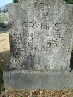 Benjamin Andrew Grymer